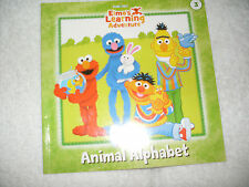 Kids fun paperback:Elmo's Learning Adventure-Animal Alphabet-letter sounds Sesam