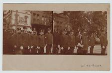 RARE Unique RPPC - Firemen  Kingston Branch - Wilkes-Barre PA 1908 Real Photo pc
