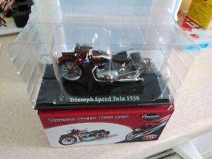 Atlas Editions Classic Motorbike - Triumph Speed Twin 1938 - 1:24 scale