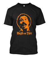New HIGH ON FIRE Concer Japan Band Black T-Shirt Size S-5XL