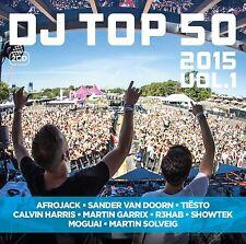 DJ TOP 50 2015  2 CD NEW+ FIREBEATZ/OLIVER HELDENS/JAY HARDWAY/ALEESIA/SIGMA
