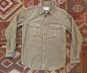 Filson Moleskin Shirt - S - Tan - Great Condition!