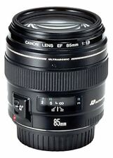Canon EF 85mm f/1.8 USM Lens - Black