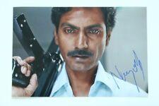 Nawazuddin Siddiqui Signed gangs of Wasseypur 20x30cm Photo Autograph Autograph