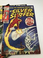 Silver Surfer #15, FN 6.0, Human Torch