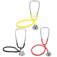NEW Dual Head Stethoscope Doctor Nurse Kids EMT Medical Health Care steal Tools