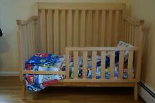 Munire convertible 3 in 1 bed / lifetime toddler rail, dresser, hutch