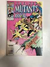 New Mutants Annual (1986) # 2 (VF/NM) 1st App Psylock ! She Is Not on Cover !