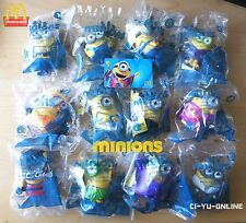 2015 McDonalds Happy Meal Minions Talking Toys US Complete Set of 12 Free Gift
