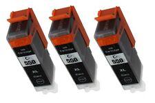 3 XL Canon PGI550 Ink Cartridge for iP7250 MG5450 MG6350 MG6450 MG7150 MX925