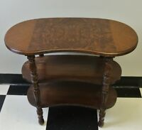 Vintage Kidney Shaped Small Side Table