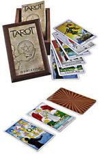 Tarot Kartlari Kutulu (Yeni Türkce Kitap) Turkish Tarot Cards With Wooden Box