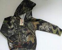Mossy Oak Camouflage Hoodie Sweat Jacket Pullover - Fleec Camo Toddler Boys