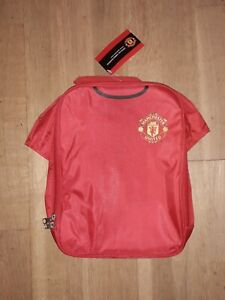 Manchester United FC Official Merchandise Football Gift Kit Lunch Bag BNWT