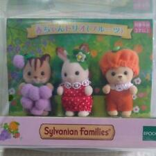 Sylvanian Families BABY TRIO fruits EPOCH Calico Critters [Fedex/DHL/JP]