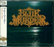 BLUE MURDER S/T DEBUT JAPAN 2014 SHM RMST CD - John Sykes Whitesnake NEW/SEALED!
