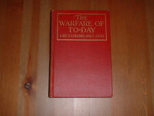 1918 HC The Warfare Of To-Day Today by Lieut. Colonel Paul Azan World War I