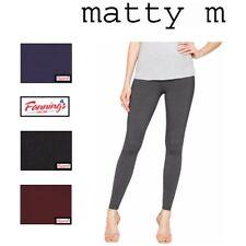 SALE Matty M Ladies Legging Stretch dress pant Thick elastic waistband Sz S-XL