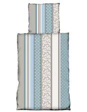 Nicky Teddy Plüsch Bettwäsche Coralfleece 135x200 cm türkis blau grau pastell