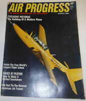 Air Progress Magazine The Building Of A Modern Plane March 1969 080514R