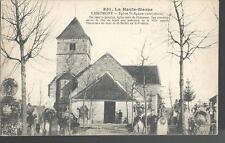 1919 WWI La Haute Marne CHAUMONT Eglise St Agnan France Postcard