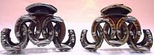 """6 PACK LARGE LADY WOMEN FASHION PLASTIC VINTAGE HAIR CLIPS CLAWS CLAMPS 3-1/4"""""""