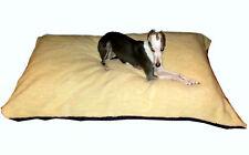 KosiPet® Extra Large Budget Economy Fibre Cushion Cream Sherpa Dog Bed,Beds