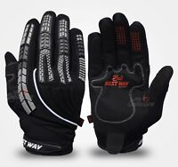 Full Finger Cycling/ Bike 100% Protection Gloves give you Grips and Breathable.