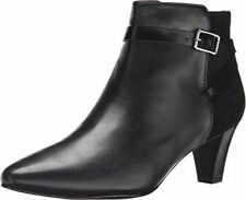 Cole Haan Sylvan Bootie Womens Boots Black Leather SZ 9 Brand New