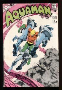 AQUAMAN (1962) #52 CARDY COVER ART 7.0 FN/VF