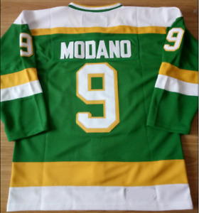 North Stars Green Mike Modano Jersey M, L, XL, 2XL, 3XL