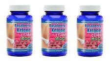 3 BOT RASPBERRY KETONE LEAN Advanced Fat Weight Loss 1200 mg 60 CAPS MaritzMayer