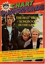 The Police on Chart Songwords Number 11 Magazine Cover 1979 The Jam The Specials