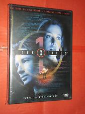 DVD FILM X FILES edizione da collezione STAGIONE uno contiene sette dischi