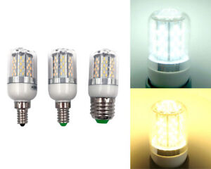 E12/E14/E27 4W 78-3014 SMD LED Light Corn Bulb Lamp AC DC12-24V/24V with Cover S