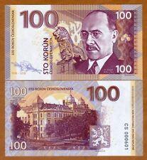 Czechoslovakia, 100 Korun, 2018, Private issue, Specimen, UNC > Milan Hodža