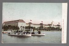 [50279] 1908 POSTCARD THE HOTEL ROYAL POINCIANA in PALM BEACH, FLORIDA