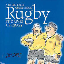 Rugby: It Drives Us Crazy! by Bill Stott (Hardback, 2004) A Helen Exley Giftbook