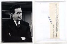 Fotografia Archivio Rai L'ISPETTORE GIDEON John Gregson Leslie Norman Foto Tv