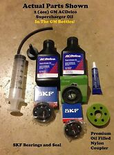 Supercharger Coupler Rebuild Bearing Kit Fit Nissan Xterra Frontier Oil Filled N