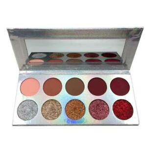 Eyeshadow Palette Colours Professional Glitter Matte Eye Shadow Make Up Cosmetic