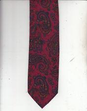 Scotland Tartan Tie-Authentic-100% Wool Tie-Made In Scotland-Sc1-Slim  Men's Tie
