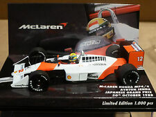 Minichamps 1:43 AYRTON SENNA McLAREN HONDA MP4 / 4 giapponese GP F1 1988