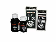Fabbrica Chimica 50ml Unione Tintura Liquida per Pelle - Nero D'inferno