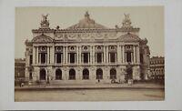 Opera Garnier Teruel Parigi Carte de visite CDV Foto Vintage Albumina