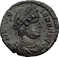 Saint HELENA Constantine I the Great Mother 337AD Ancient Roman Coin PAX i58654