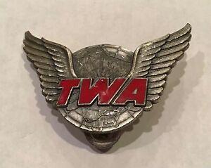 1950's Vintage TWA Agents Hat Insignia