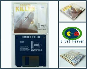 HUNTER KILLER BY MASTERTRONIC FOR COMMODORE AMIGA - TESTED & WORKING