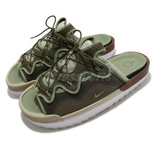 Nike Offline 2.0 Slip On Medium Olive Green Men Unisex Sandals Shoes CZ0332-200