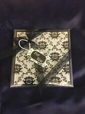 Fashioncraft Coasters 2 Pack Black And White Flock Print